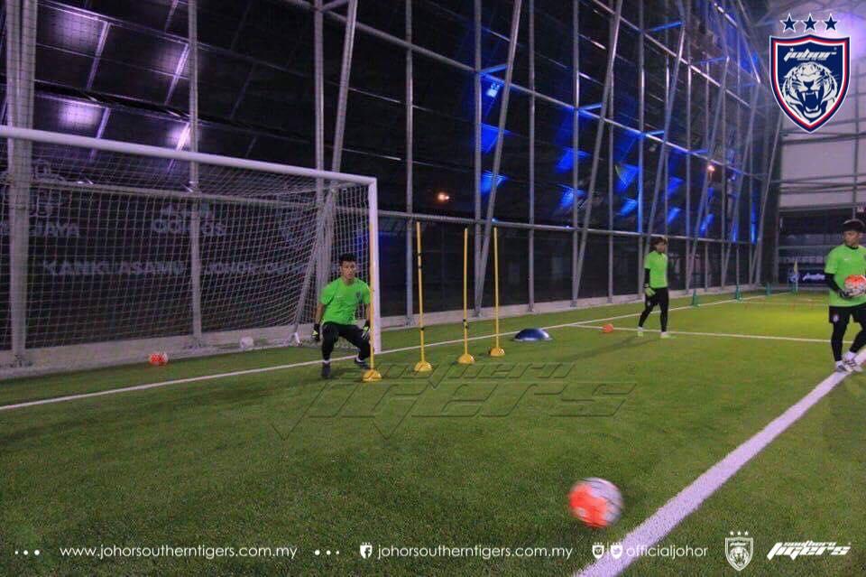 farizal marlias berlatih dengan JDT