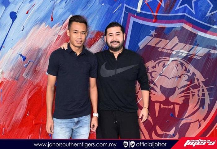 Pemain Baru JDT 2017 Ahmad Hazwan Bakri