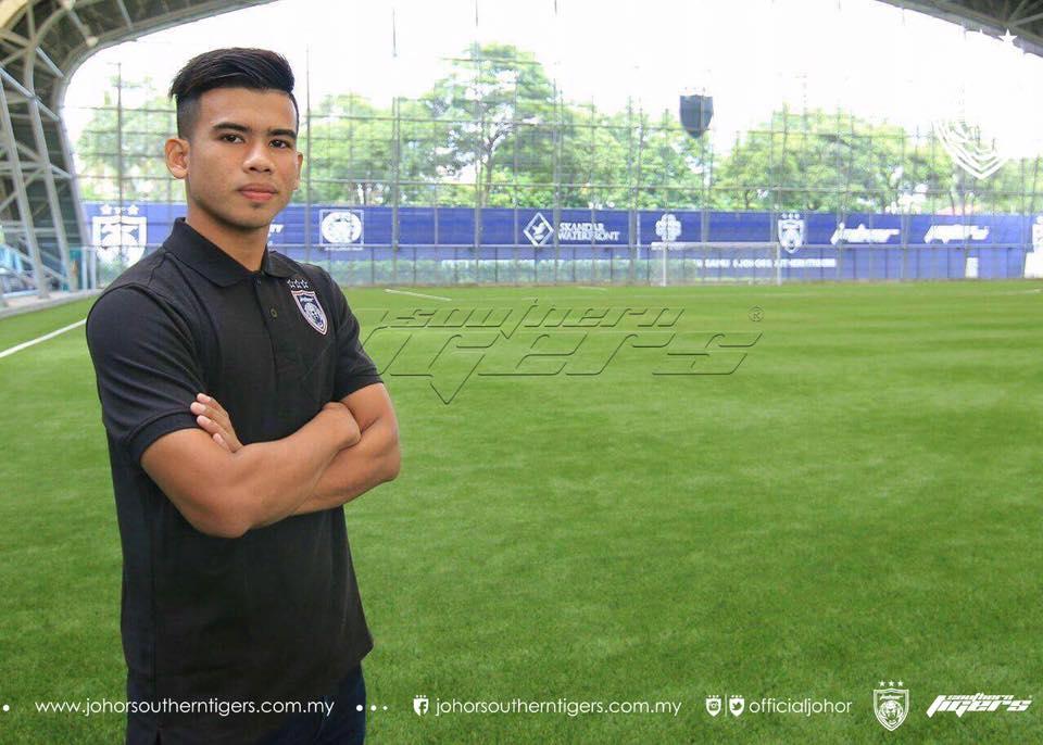 Pemain baru JDT 2017 Safawi rashid