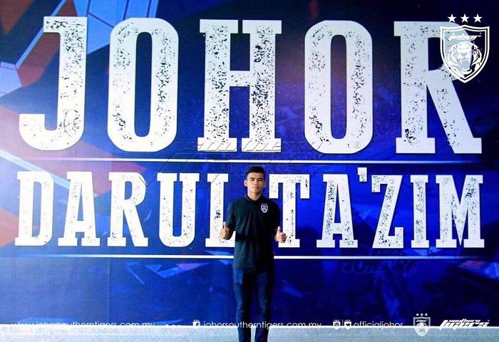 Pemain Baru JDT 2017: Safawi Rashid