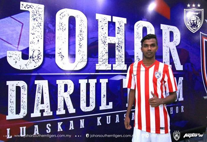 Pemain Baru JDT 2017 R Gopinathan