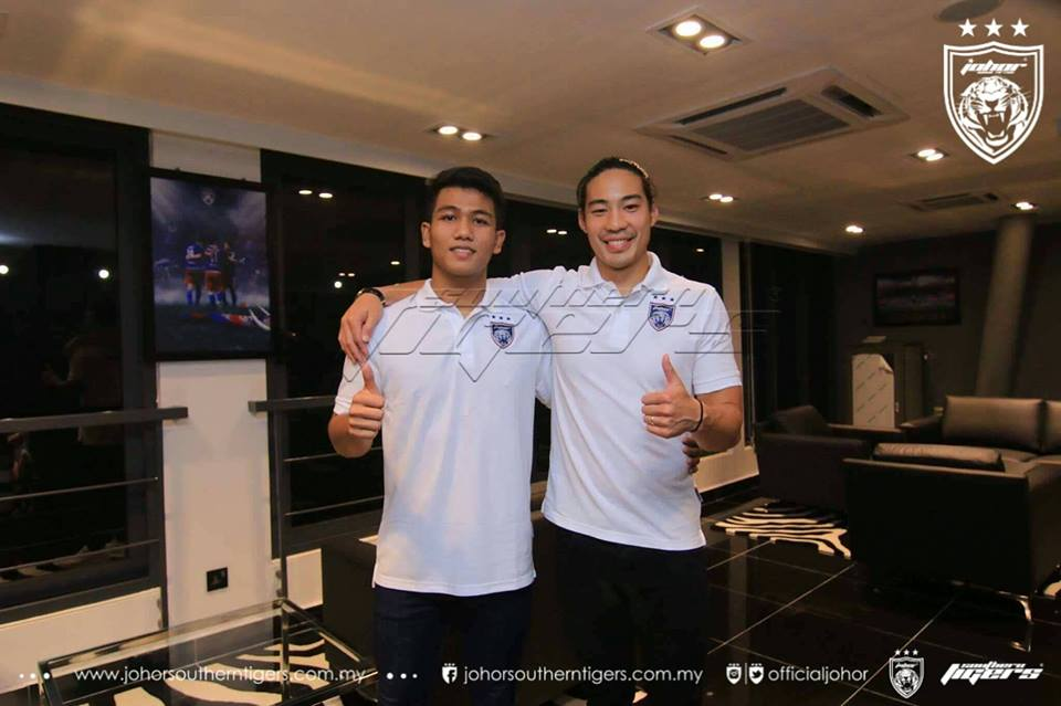 Pemain Baru JDT 2017: Muhammad Haziq Dan Ernest Wong