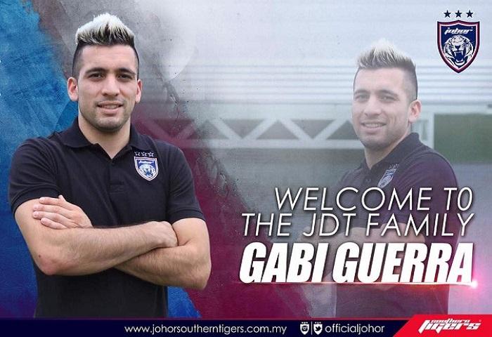 Selamat Datang Ke JDT Gabi Guerra