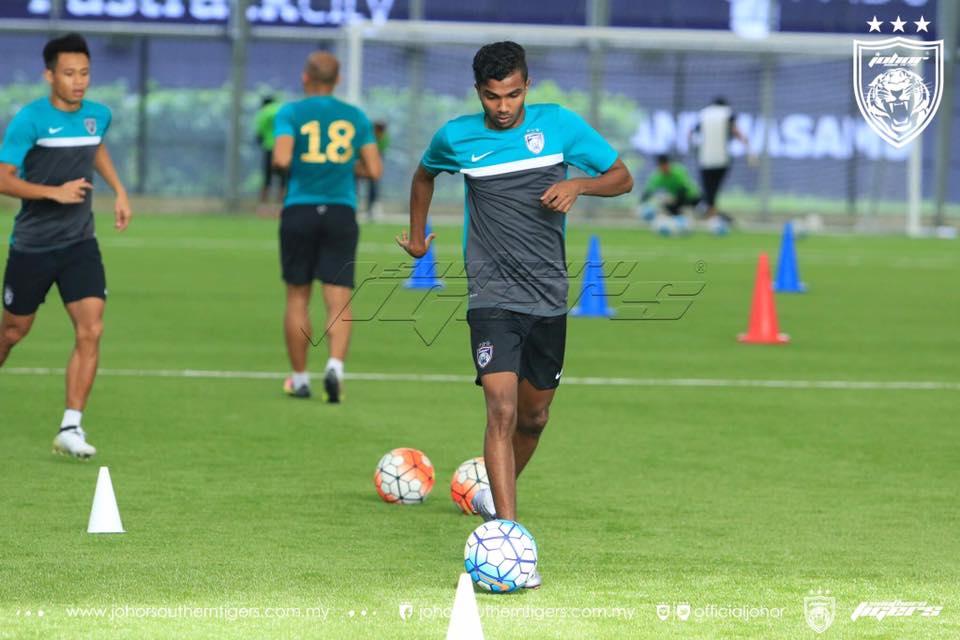 Pemain Baru JDT 2017 R. Gopinathan