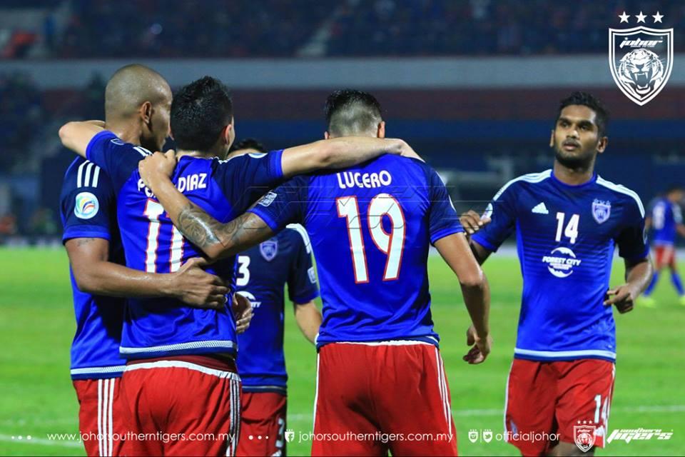 Liga Super 2016: Senarai Lengkap 56 Gol JDT Berserta Video