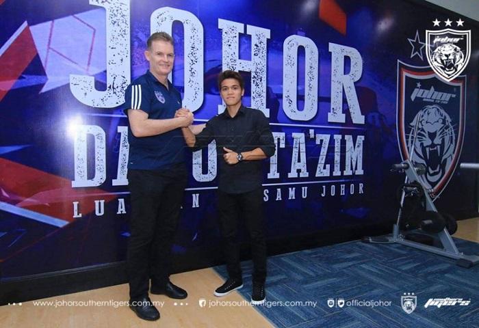 Pemain Baru JDT 2017: Nazmi Faiz Mansor