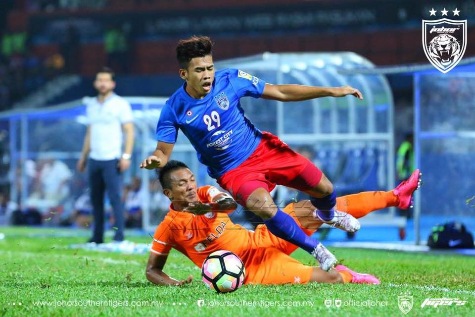 Analisa Taktikal JDT vs Felda United safawi