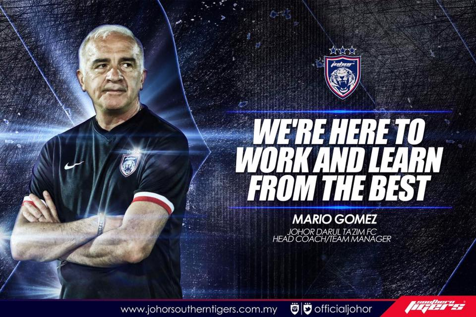 Chonburi FC vs JDT Live Streaming pra musim Thailand 2017 gomez