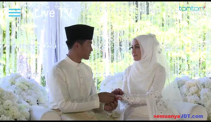 Izham Tarmizi kahwin Mia Ahmad 15