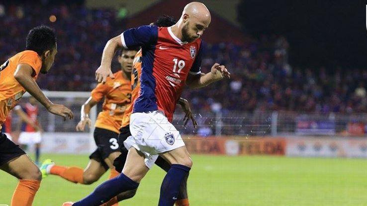 Luciano Figueroa JDT vs Felda United