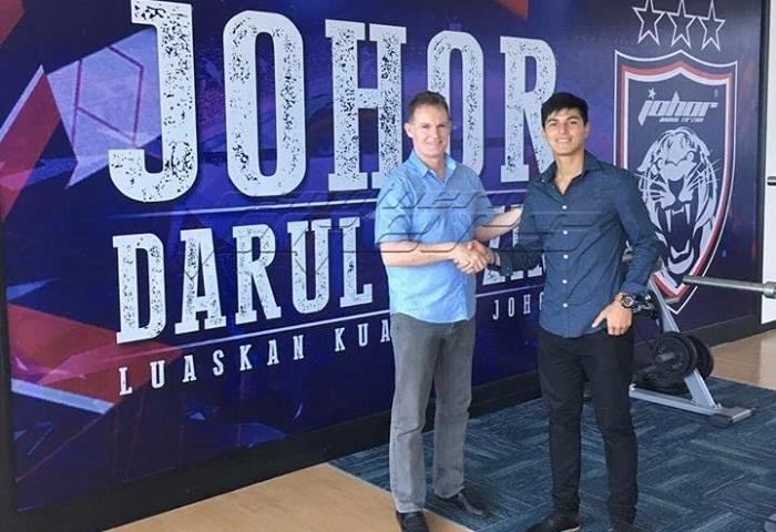 Pemain Import Baru JDT II 2017: Kenali Samuel Caceres