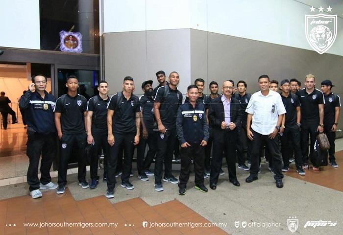 JDT Bawa 25 Pemain Ke Thailand