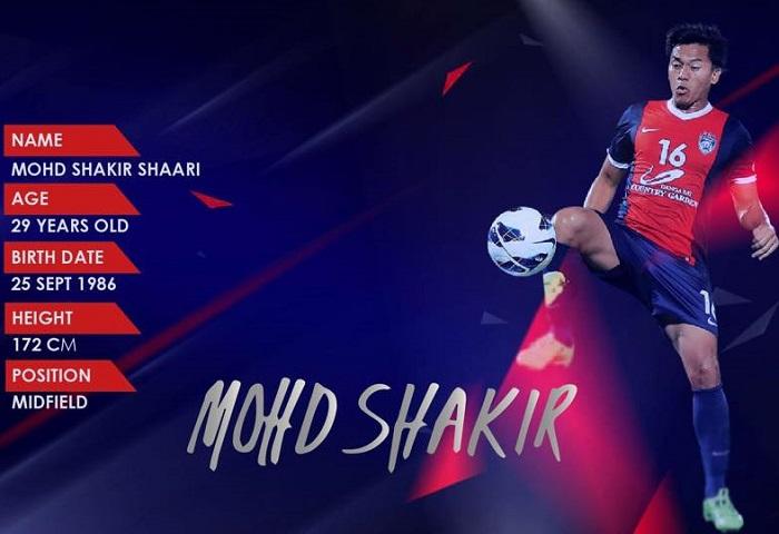 Mohd Shakir Shaari JDT
