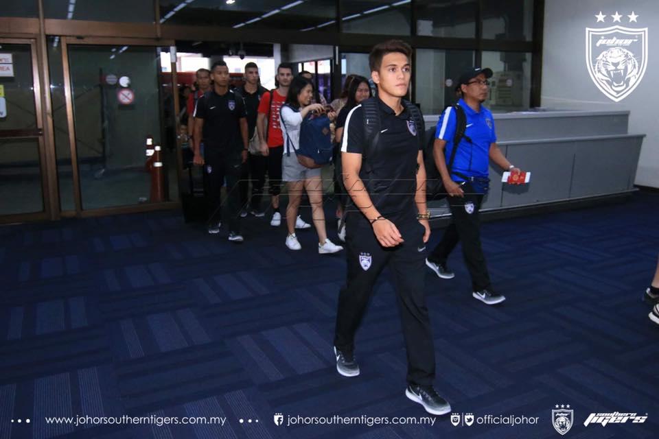 nazmi faiz ikut jdt ke pra musim thailand JDT bawa 25 pemain ke thailand