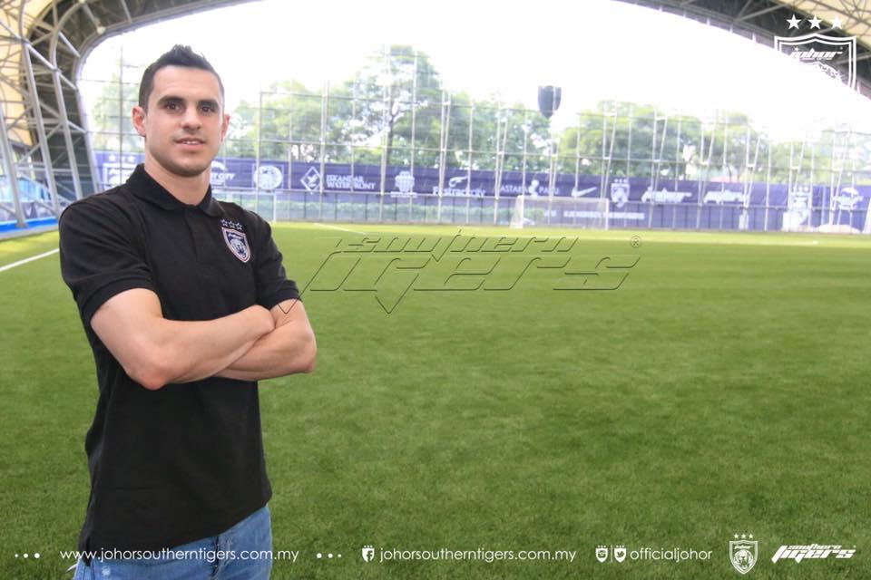 pemain import baru jdt 2017 Gonzalo Cabrera 3