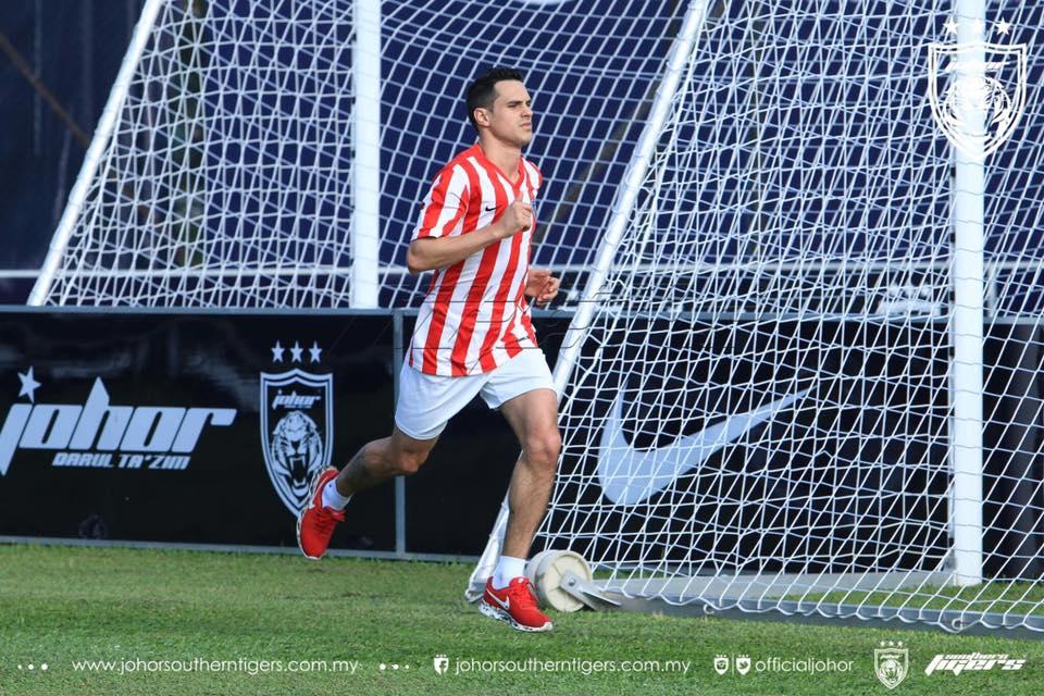 pemain import baru jdt 2017 Gonzalo Cabrera