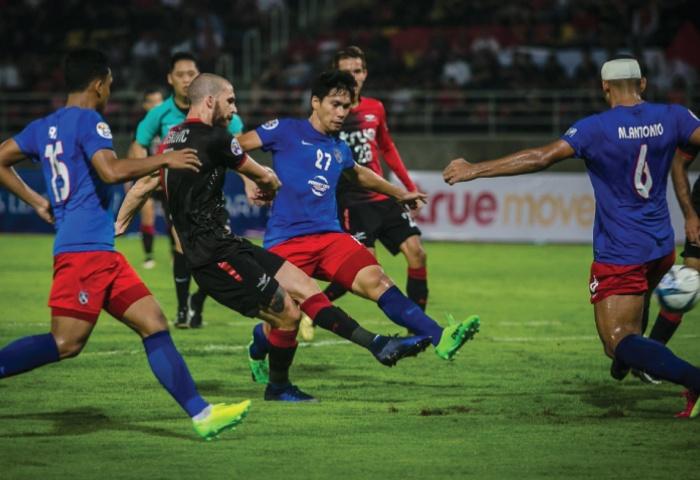 Bangkok United 1-1 JDT (penalti 4-5) Piala ACL