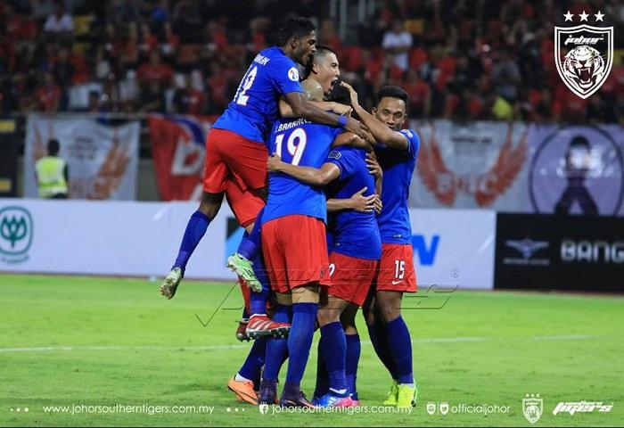Bangkok United 1 1 JDT (penalti 4 5) Safiq Rahim