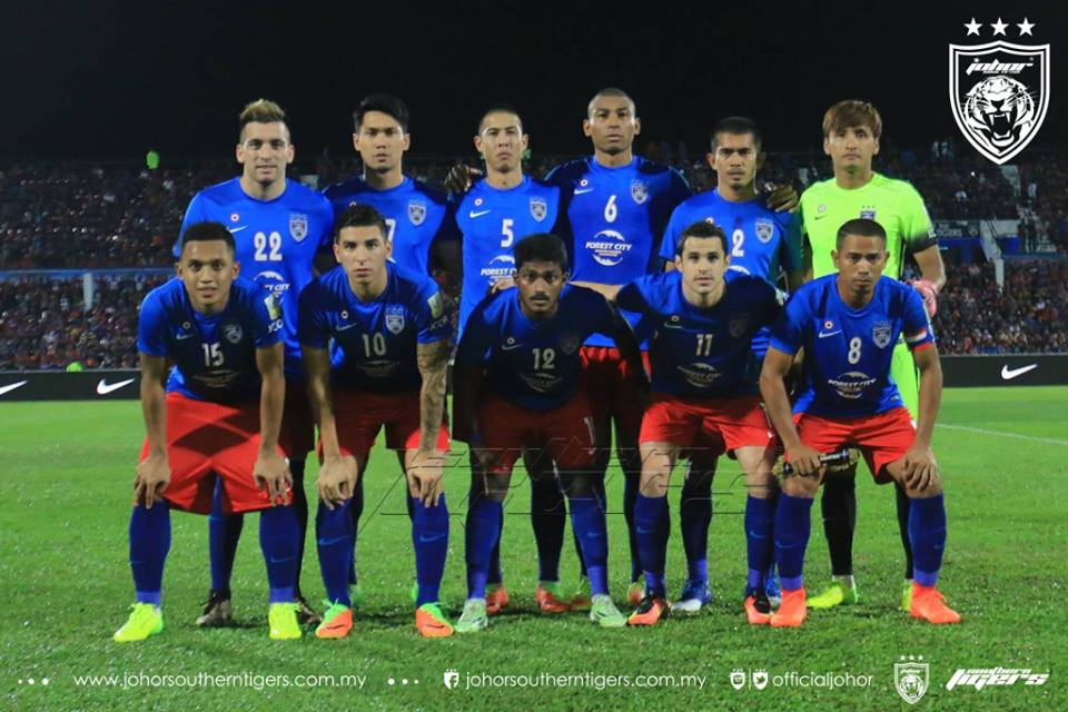 JDT 0 Selangor 0 kesebelasan utama