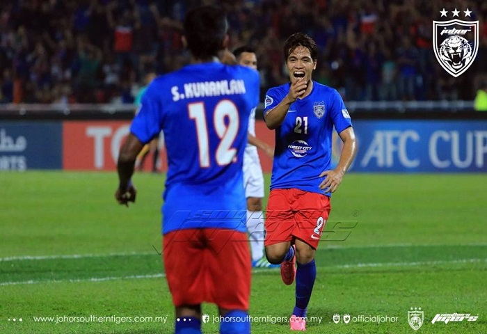JDT 3 Boeung Ket Angkor FC 0 Nazmi Faiz Mansor