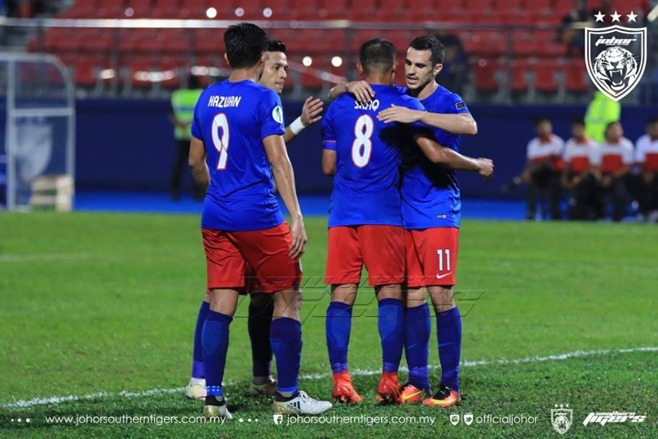 JDT 3 Boeung Ket Angkor FC 0 safiq rahim