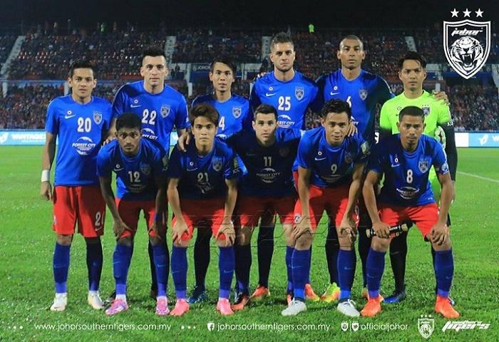 Liga Super 2017: JDT 3 T-Team FC 0, Laporan Dan Video Highlights