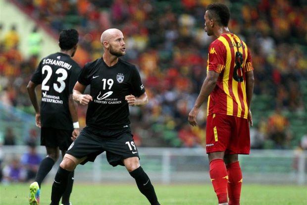 JDT vs Selangor Luciano Figeroa