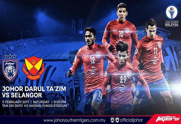 JDT Vs Selangor Matchday