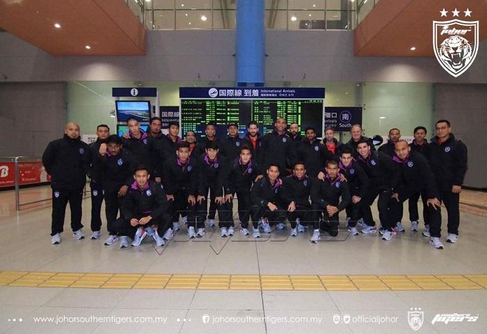 Piala ACL 2017 Playoff: JDT Bawa 19 Pemain Ke Jepun