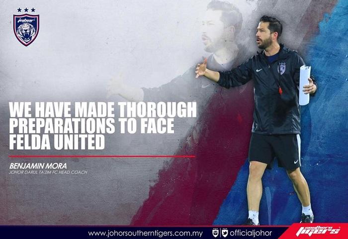Piala FA 2017: Previu Felda United Vs JDT, Rekod Dan Statistik