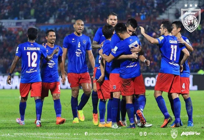 Liga Super 2017: JDT 3 Pahang 2, Laporan Dan Video Highlights
