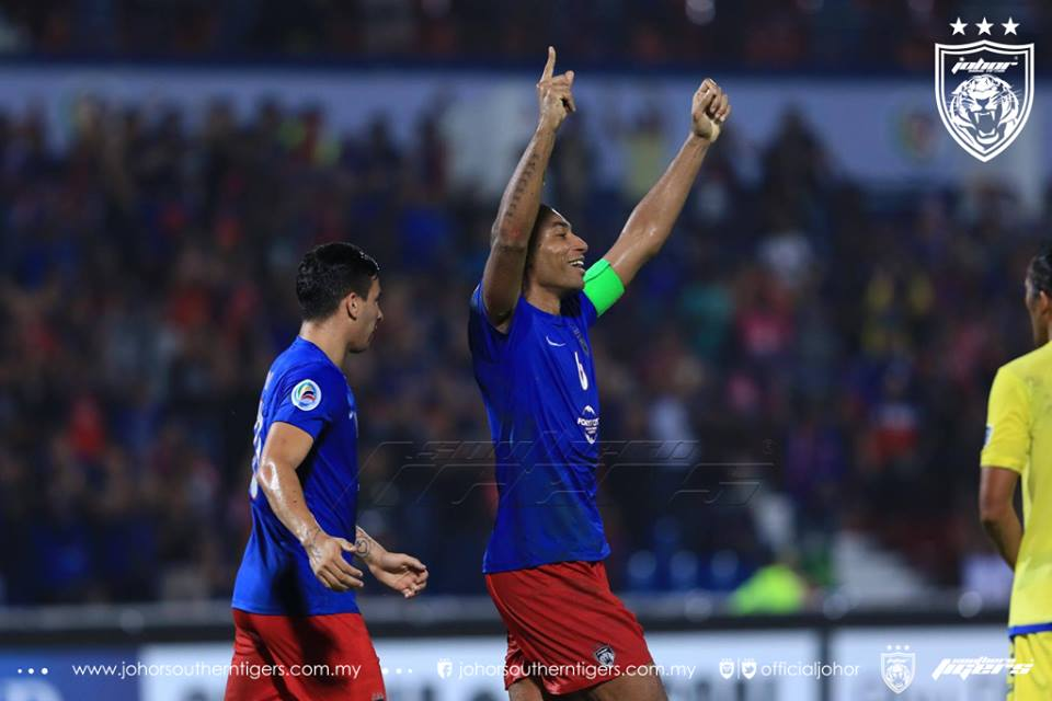 JDT 4 Global FC 0 marcos antonio
