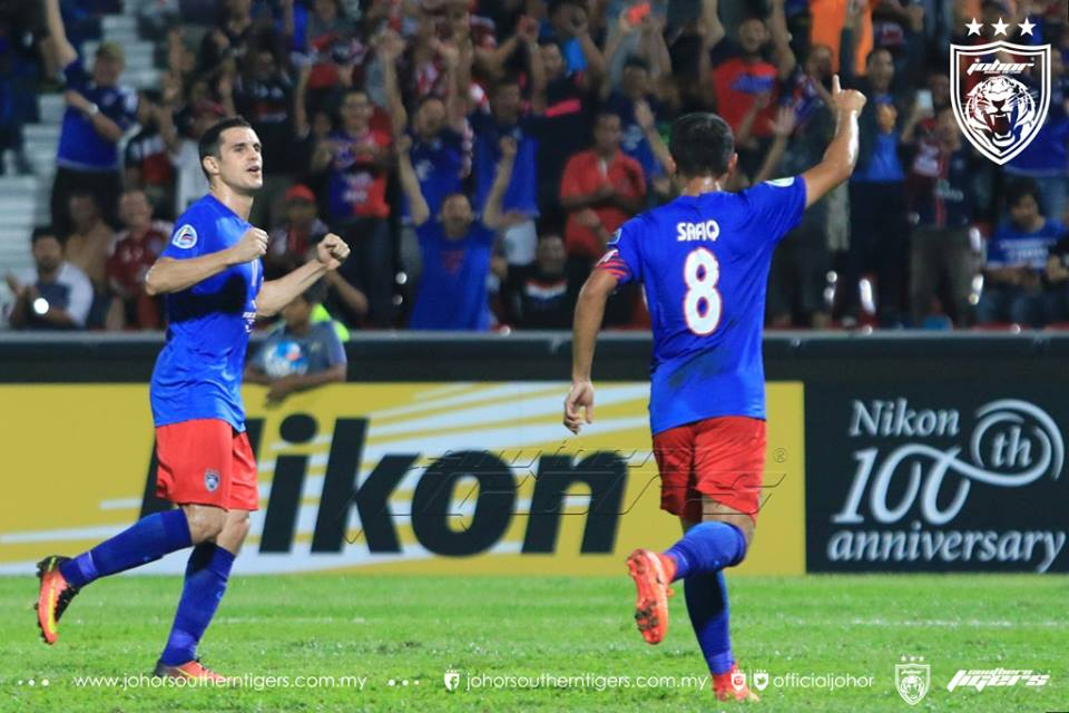 JDT 4 Global FC 0 safq rahim
