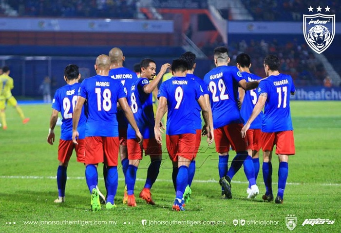 Piala AFC 2017: JDT 4 Global FC 0, Laporan Dan Video Highlights