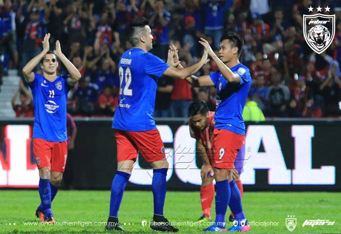 Piala FA 2017: JDT 4 Uitm FC 0, Laporan Dan Video Highlights
