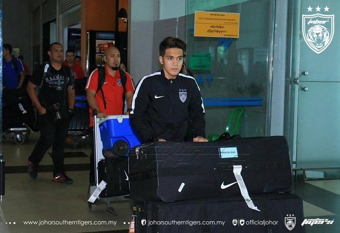 JDT Membawa 18 Pemain Ke Myanmar Nazmi Faiz Mansor