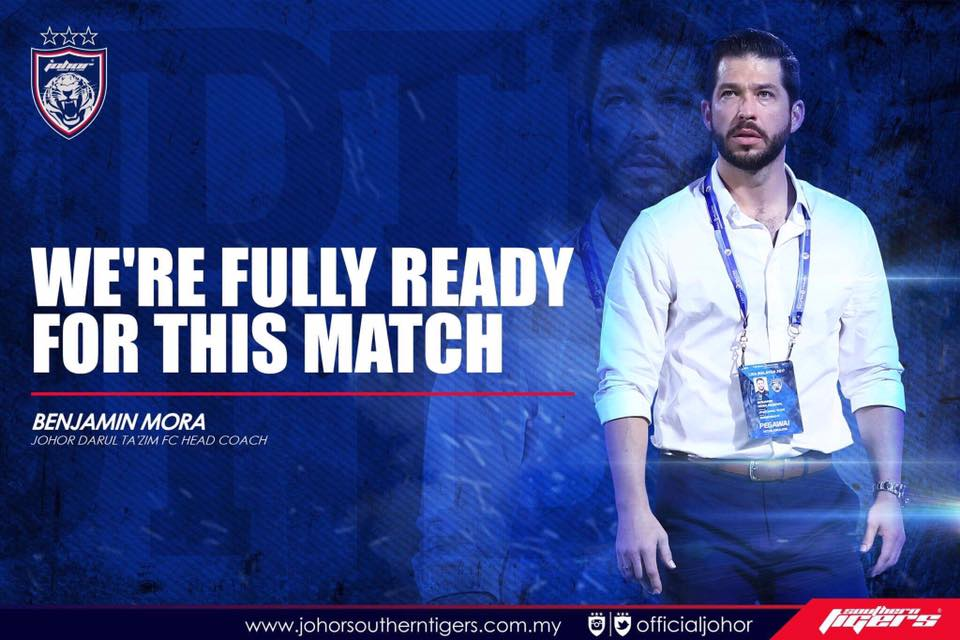 JDT vs Global FC live streaming benjamin mora