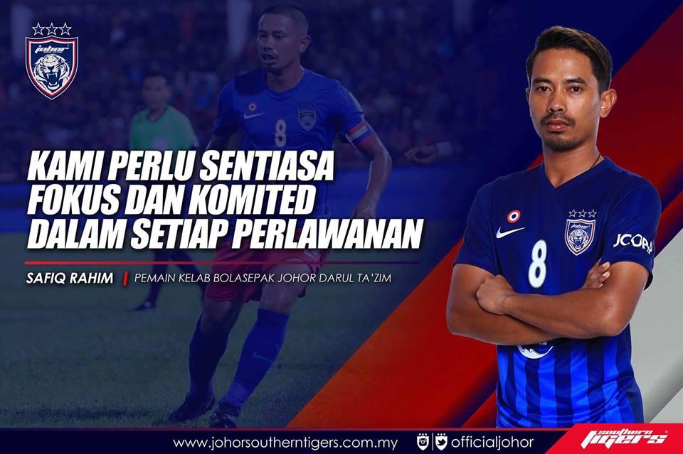 JDT vs Uitm FC live streaming safiq rahim