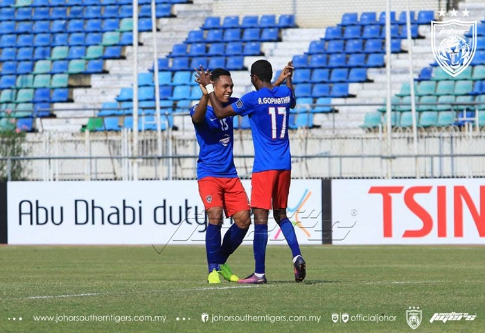Piala AFC 2017: Magwe FC 1 JDT 1, Laporan Dan Video Highlights