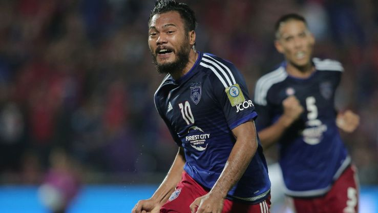 Top 5 penjaring JDT dalam Piala AFC safee sali
