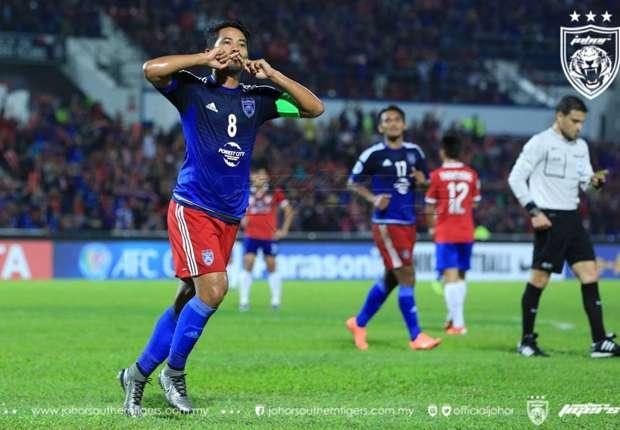Top 5 penjaring JDT dalam Piala AFC safiq rahim