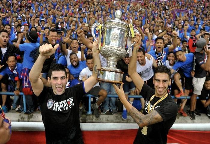 Top 5 Penjaring JDT Dalam Piala FA (2013 Hingga Sekarang)