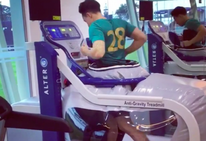 Anti-gravity Treadmill Jdt Darren Lok