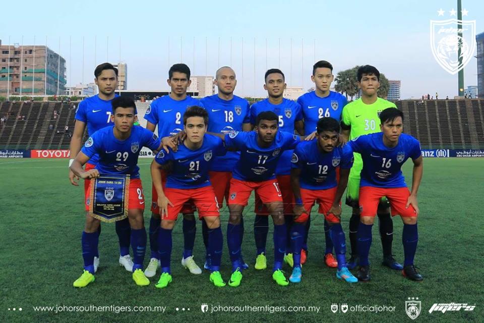 Boeungket Angkor FC 0 JDT 3 kesebelasan utama