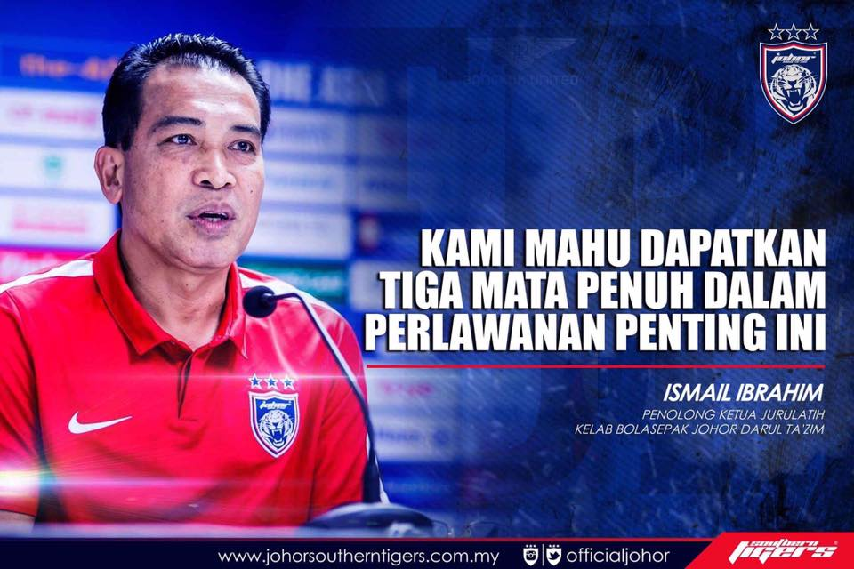 Global FC vs JDT live streaming ismail ibrahim