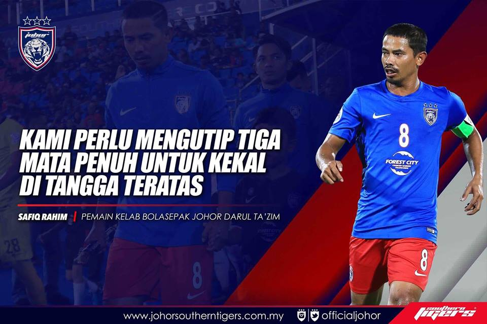 Global FC vs JDT live streaming safiq rahim