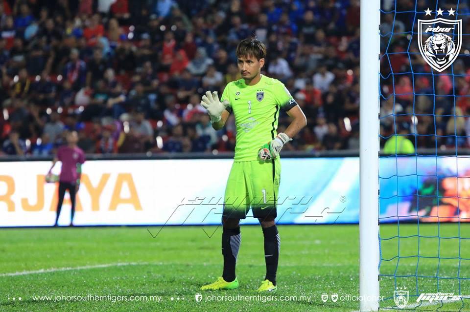 JDT 7 Melaka United 0 farizal
