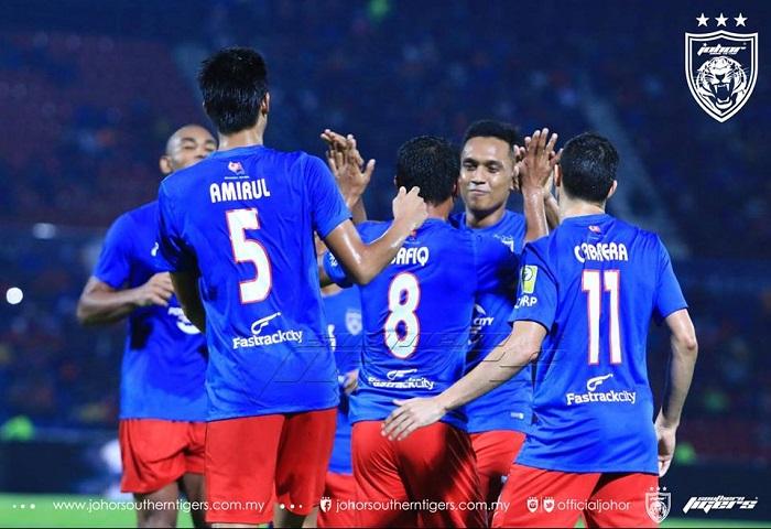 JDT 7 Melaka United 0