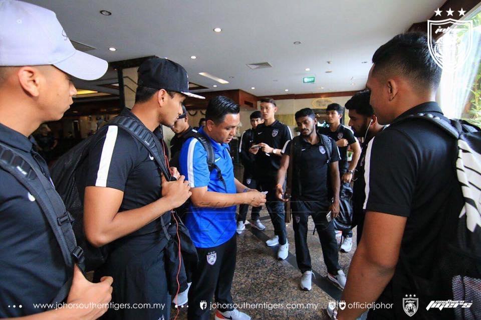 JDT membawa 21 pemain ke Kemboja