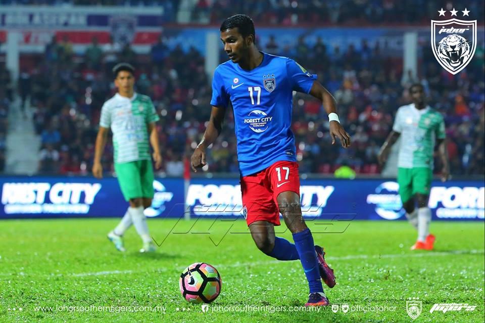 JDT tewaskan Melaka United gopi